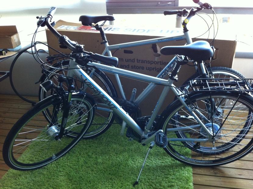 Cyklarna är här!
