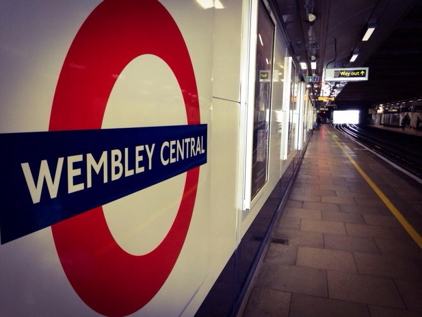 Första stoppet –London