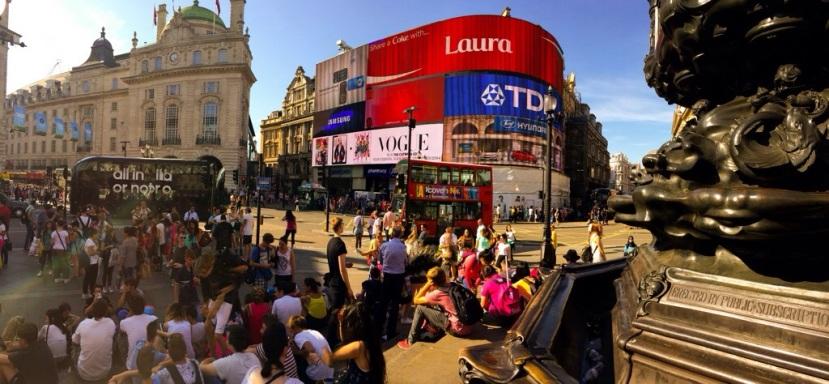 London, dag 1.