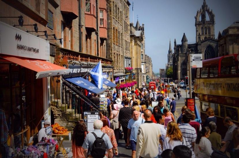 Edinburgh, Skottland.
