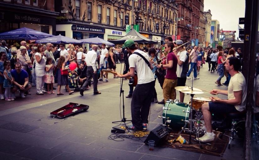 Glasgow, Skottland.
