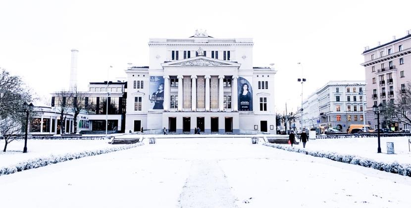 Nytt land, ny stad –Riga