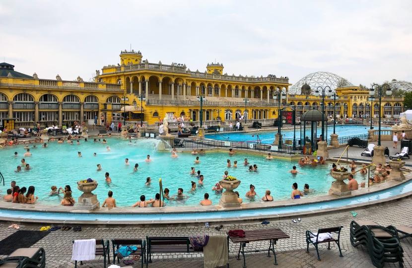 Széchenyi Baths och BudapestZoo