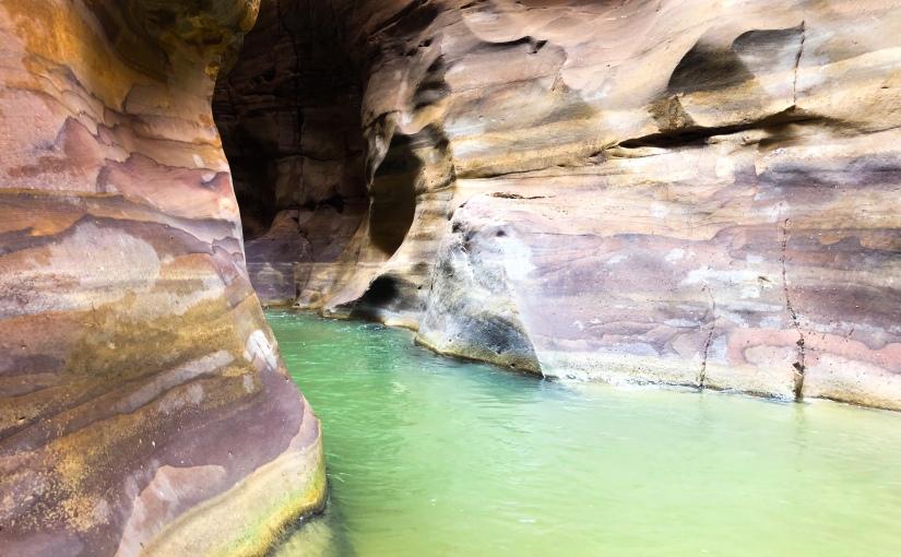 Wadi Mujib, Jordanien