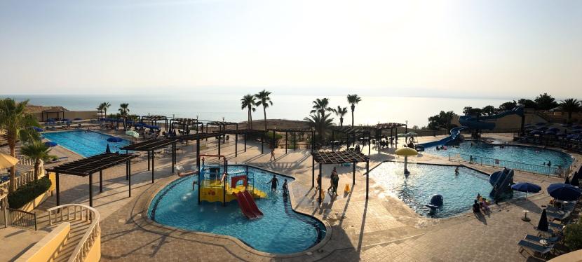 Dead Sea, Jordanien